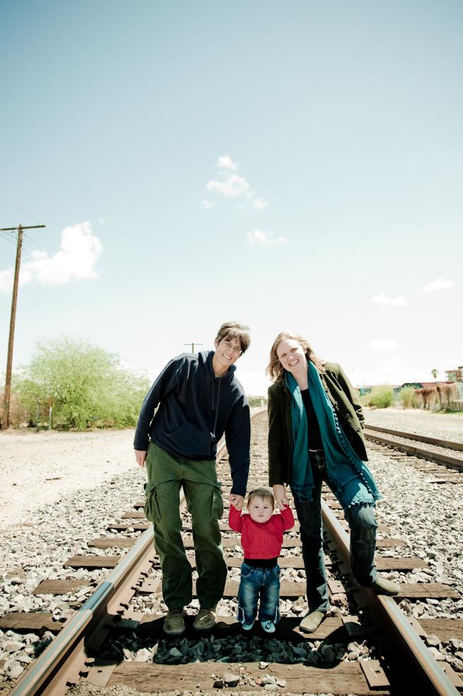 Kiyomi Margaret Ila Family Portrait Downtown Tucson