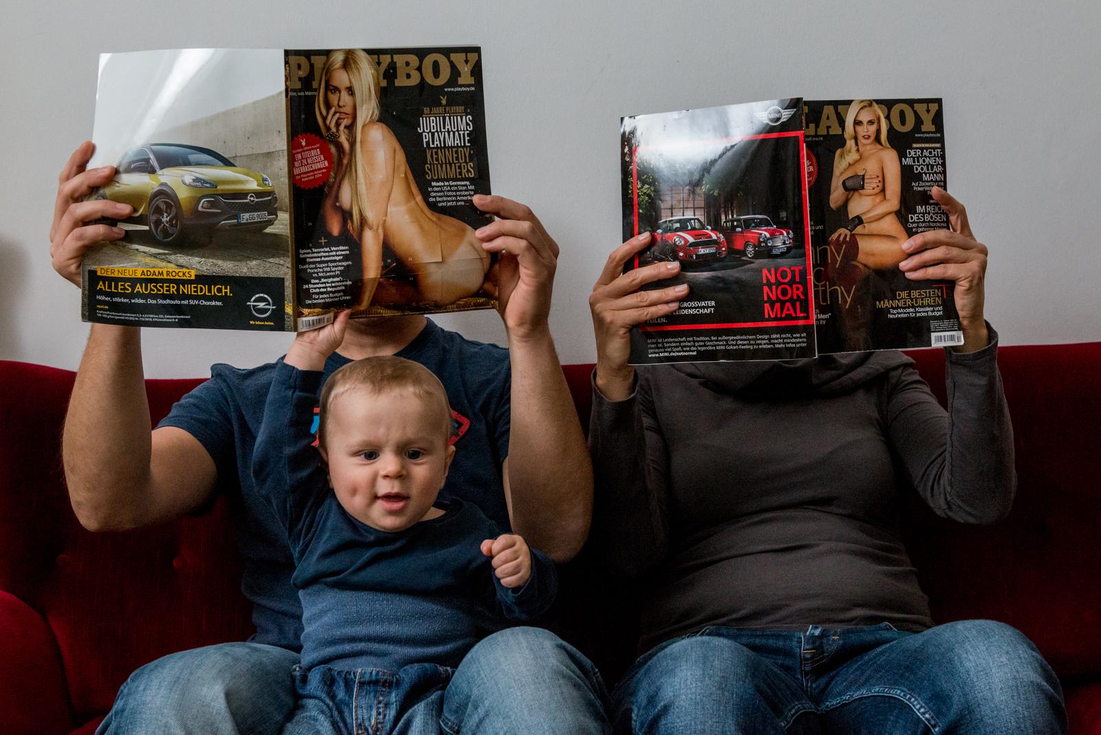 Familienfotografie: Playboy